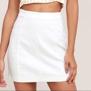 nwot free people skirt